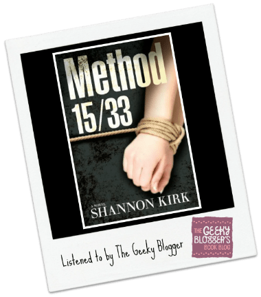 Audiobook Review: Method 15/33 by Shannon Kirk