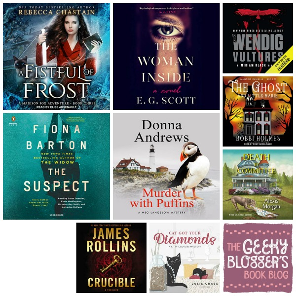In My Ear: Audiobook Releases Jan 22 Mysteries