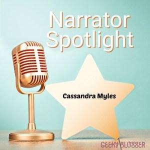 Narrator Spotlight on Cassandra Myles