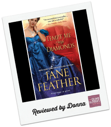 Donna's Review: Tempt Me With Diamonds by Jane Feather