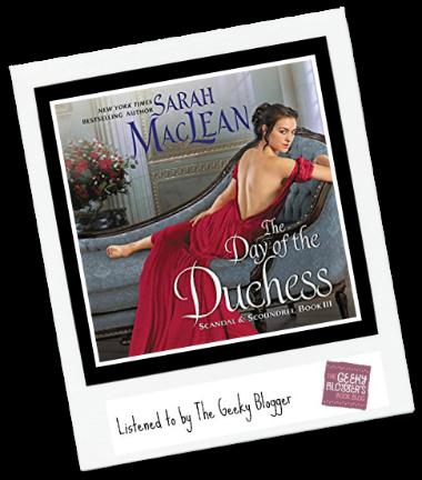 Audiobook Review: The Day of the Duchess by Sarah MacLean @HarperAudio @avonbooks