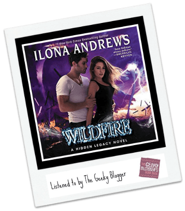 Audiobook Review: Wildfire by Ilona Andrews @HarperAudio