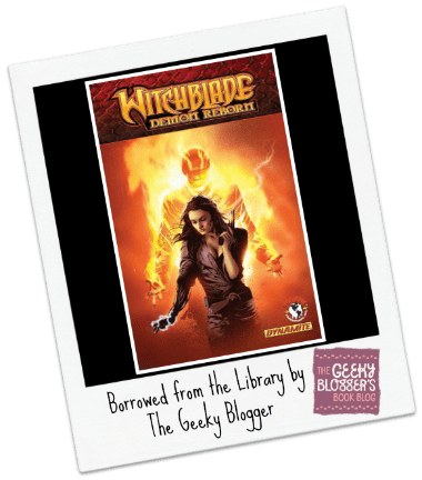 Snagged @ The Library Review: Witchblade by Jose Luis
