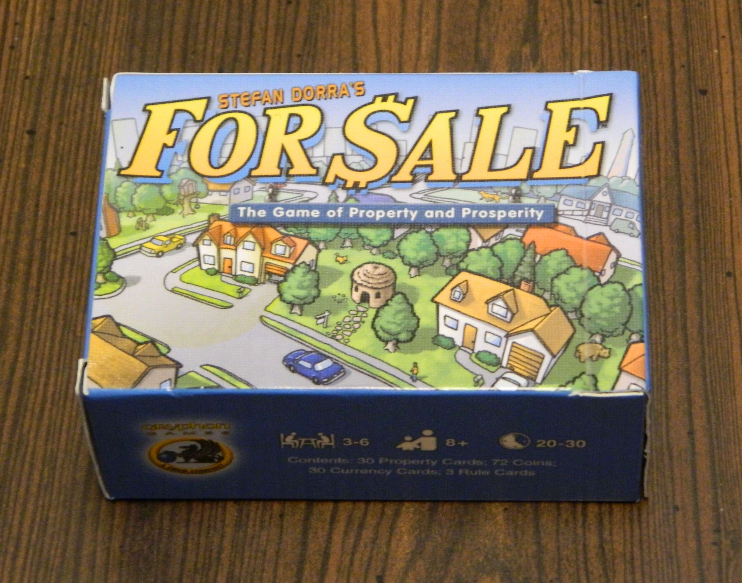 For Sale Card Game Review And Instructions