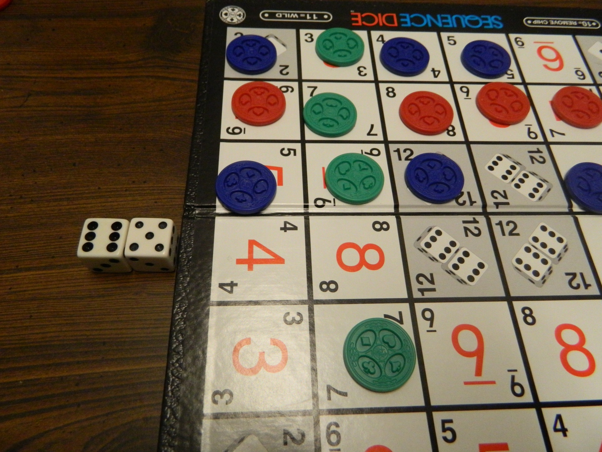 Sequence Dice Board Game Review And Rules