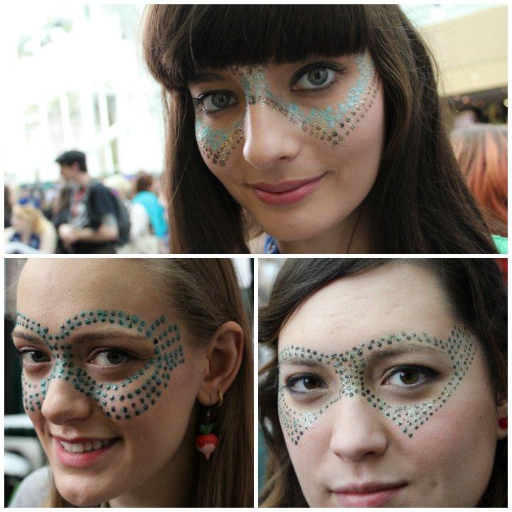 ECCC Glitter Masks