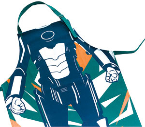 cyberman apron