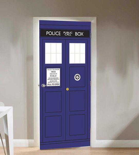 TARDIS Cling