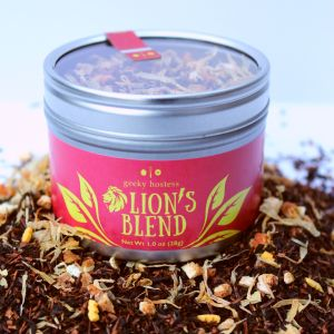 Lion's Blend Tea Hero