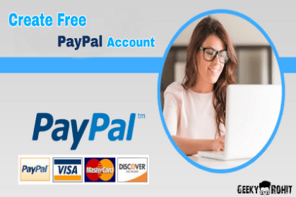 how to create free paypal account