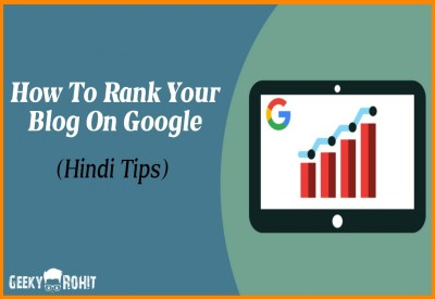 How to rank your blog in google