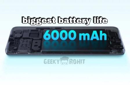 Realme C12 Vs Realme C15 Battery