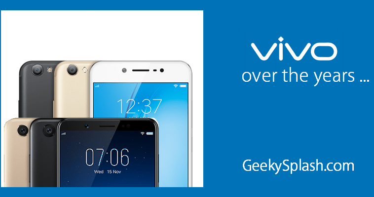 Vivo-over-the-years-GeekySplash-1