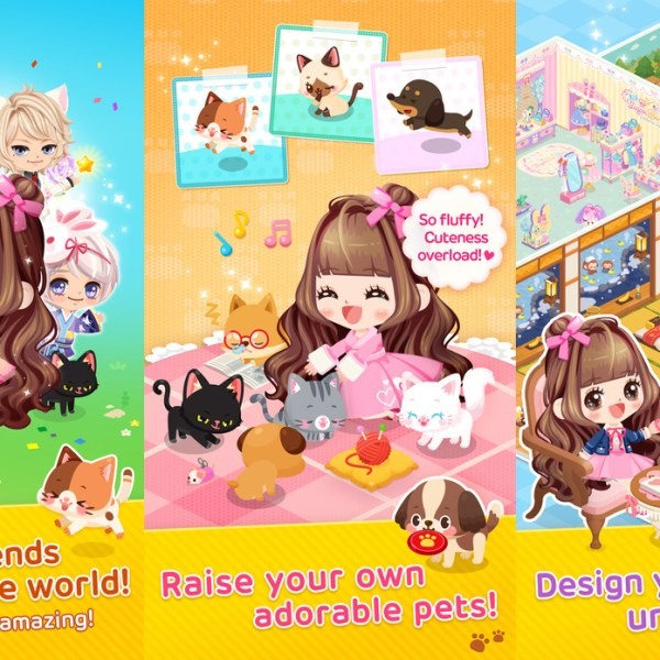 Line Play Free Anime Dressup Game Like Gaia Online for IOS and Android Mobile Devices