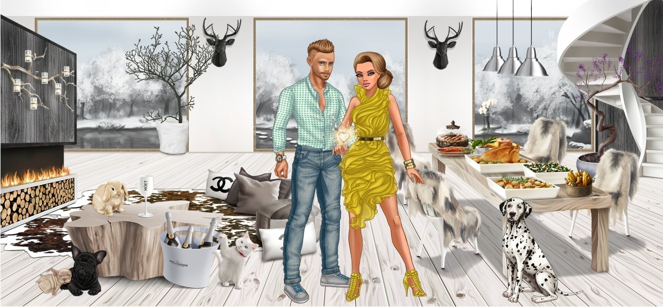Lady Popular – Review of Fashion Runway Dressup Game