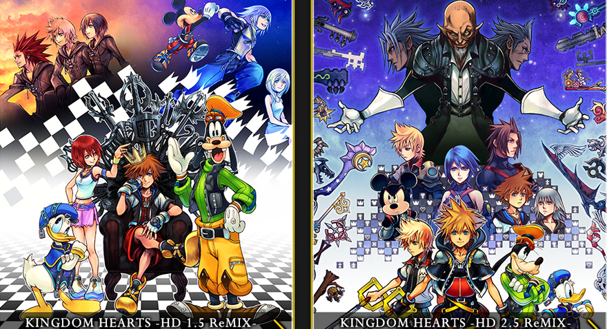 Kingdom Hearts 1.5 and 2.5 HD Remix PS4 Videogame Review