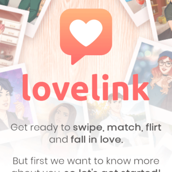 Lovelink Dating Simulation Mobile Game