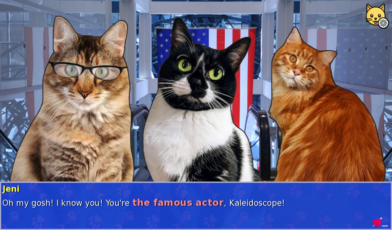 Cat President 2 Visual Novel Otome Game Review