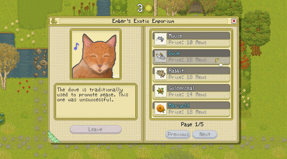 Cattails Become A Cat – PC Game Review Like Stardew Valley But With Cats