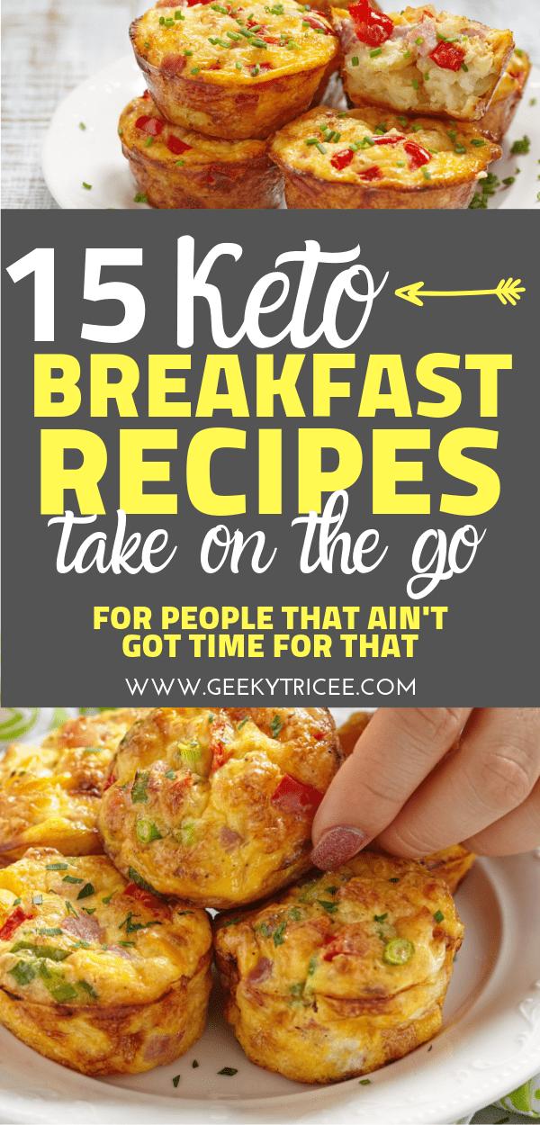 keto breakfast recipes on the go