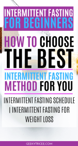how to choose the best intermittent fasting method for you