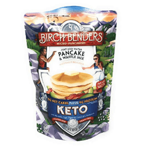 Birch Benders Griddle Cakes, Pancake Waffle Mix Keto