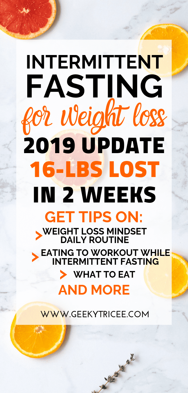 intermittent fasting weight loss update