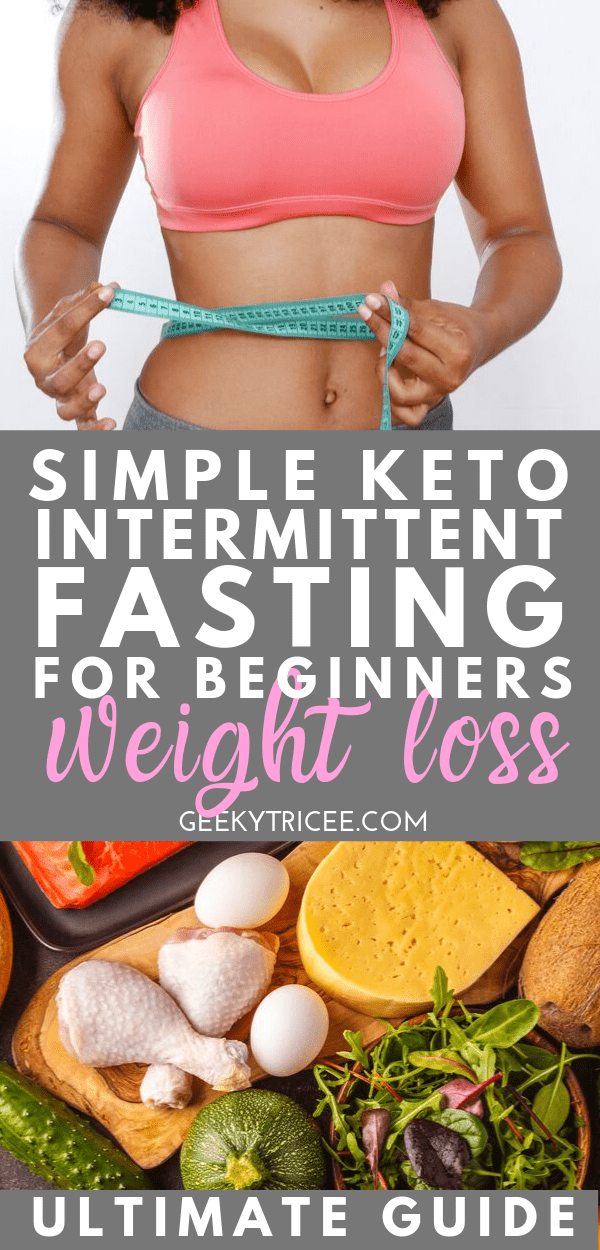 simple keto intermittent fasting for beginners weight loss