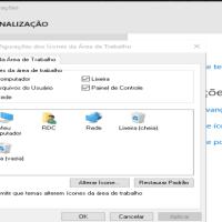 Windows 10, como mostrar o ícone do Meu Computador na área de trabalho