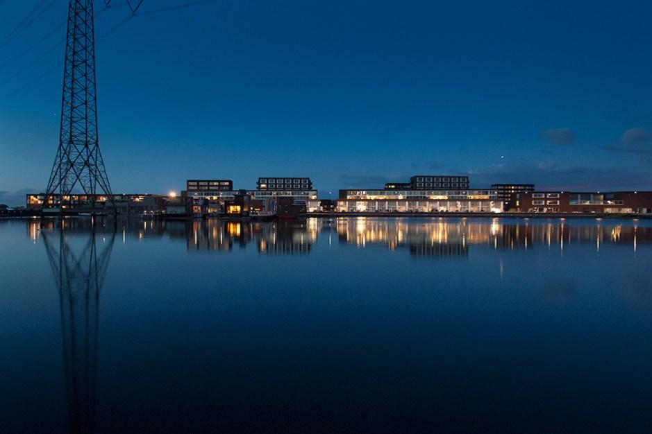 IJburg bij nacht