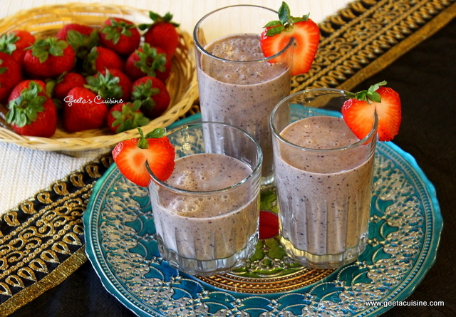 Fruits Ragi Malt & Oats Smoothie