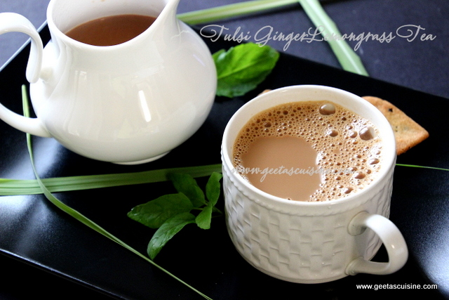 Tulsi Ginger Lemongrass Tea