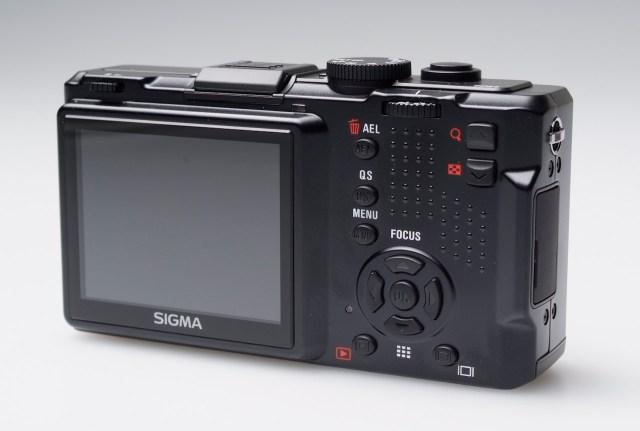 Sigma DP2s rear LCD