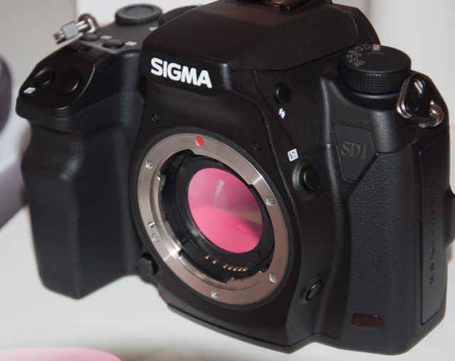 Sigma SD1's internal, removable hot mirror filter