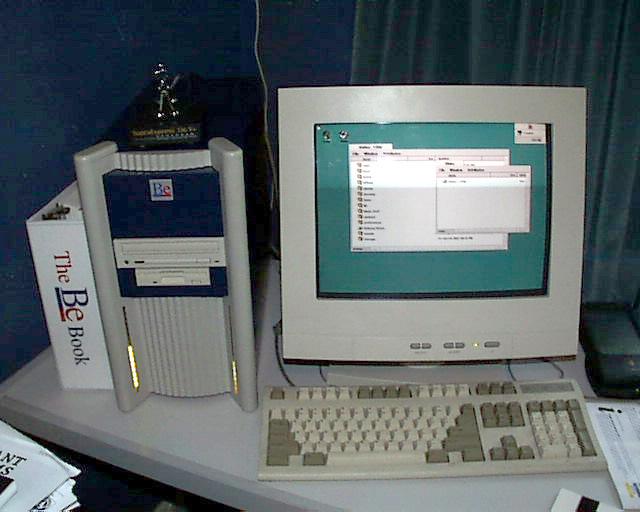 A BeBox in 1997 or 1998
