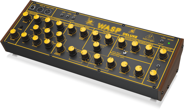 Behringer Wasp Deluxe - classic British two-oscillator digital synthesizer reborn