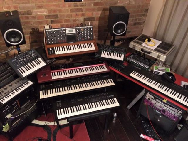 Are you a musician, or do you just collect synthesizers?