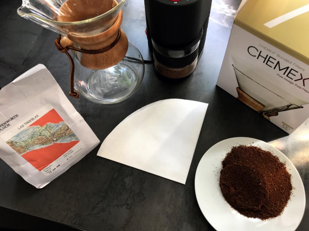 Ausrüstung für Filterkaffee