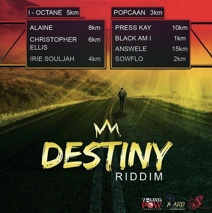 DESTINY RIDDIM 2018 / The new compilation of Jamaican