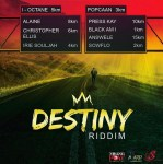 DESTINY RIDDIM 2018 / The new compilation of Jamaican artists is out now (Prod by Young Pow, Baby G & Sherieta)