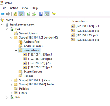Migrate DHCP