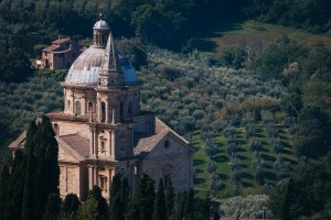 The Church of San Biagio in Montepulciano, Tuscany