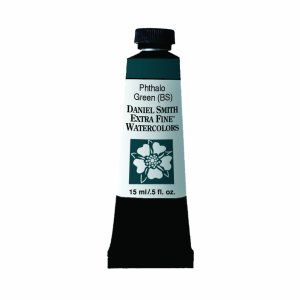 Phthalo Green Blue Shade Watercolor15 ml Paint Tube