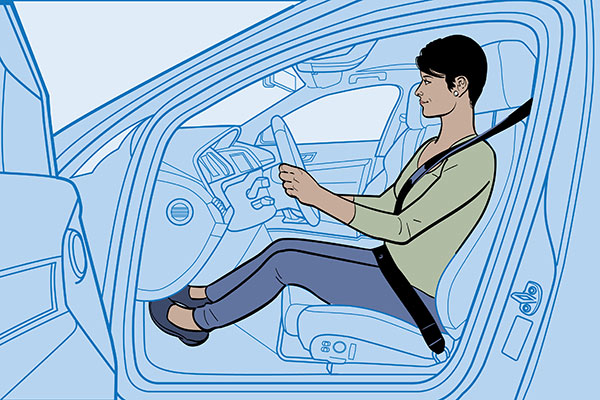 The Importance Of Good Driving Posture | GEICO Living