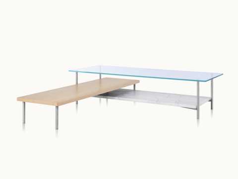 layer tables accent and occasional