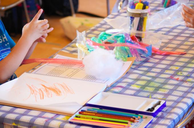 美術教室 造形指導 幼児教育
