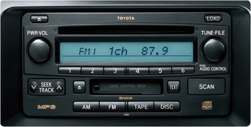 ASTN LCD module in a car stereo