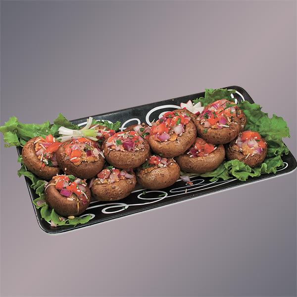 Gourmet Stuffed Mushroom Platter