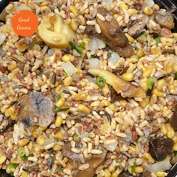 Hearty Grains & Wild Mushroom Blend (Vegan)