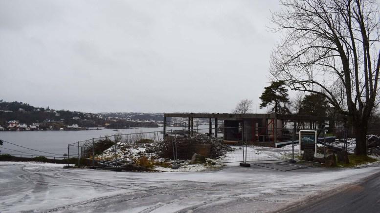 INGEN SOLGT: Foreløpig har ingen kjøpekontrakter blitt undertegnet i boligprosjektet Bratteklev Panorama. Megler regner med byggestart i løpet av våren. Foto: Esben Holm Eskelund